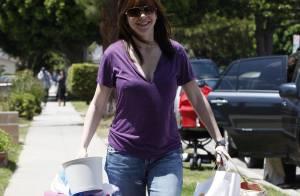 Alyson Hannigan, deux mois après bébé... elle est au top !