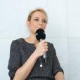 """Elodie Gossuin, ex-Miss France, revient sur les rumeurs la disant transsexuelle lors du concours de """"Miss Univers 2001"""" en exclusivité au micro de """"Purepeople.com"""" en février 2019."""
