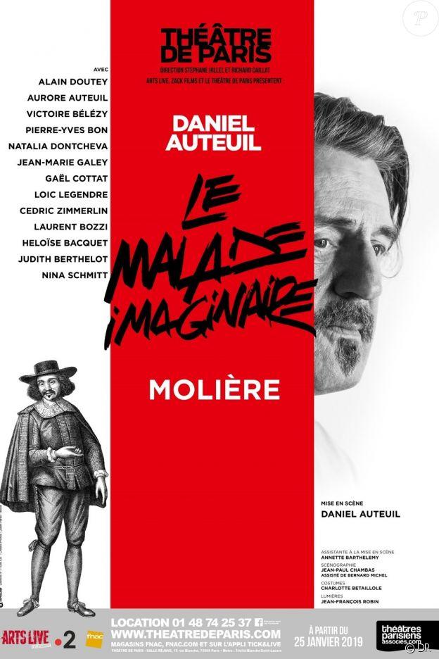 Le Malade imaginaire, au théâtre de Paris - février 2019