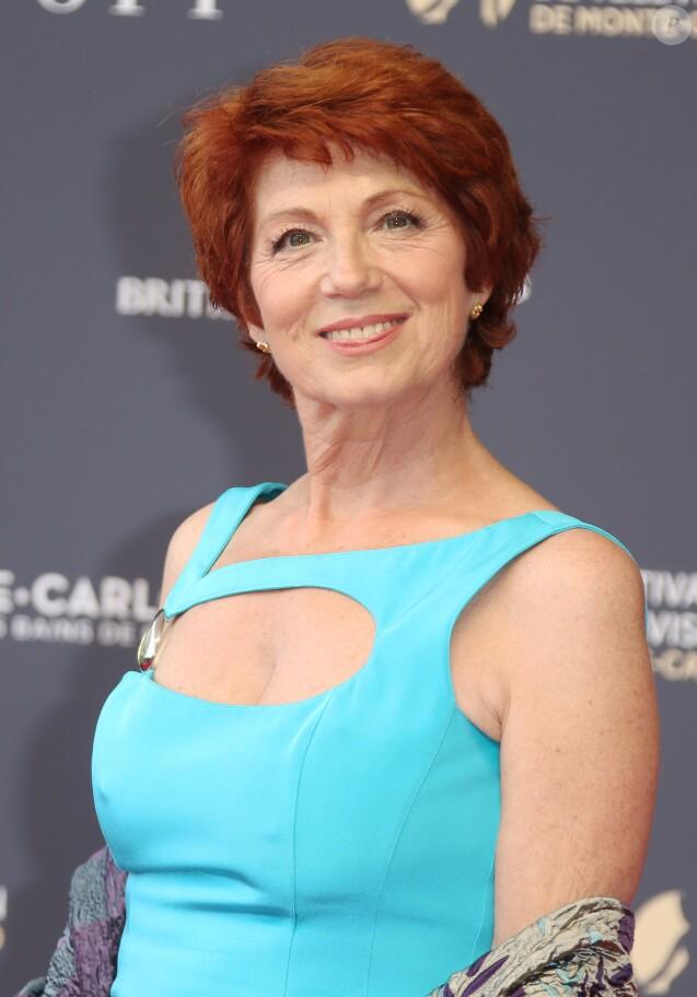 Véronique Genest lors de l'ouverture du 58ème Festival de Télévision de Monte-Carlo le 15 juin 2018.