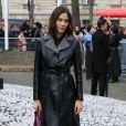 Alexa Chung - Défilé Miu Miu, collection prêt-à-porter automne-hiver 2019-2020 au Palais d'Iéna. Paris, le 5 mars 2019.