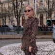 Chloë Sevigny - Défilé Miu Miu, collection prêt-à-porter automne-hiver 2019-2020 au Palais d'Iéna. Paris, le 5 mars 2019.