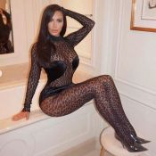 Kim Kardashian à Paris : plus hot que jamais en combinaison transparente !