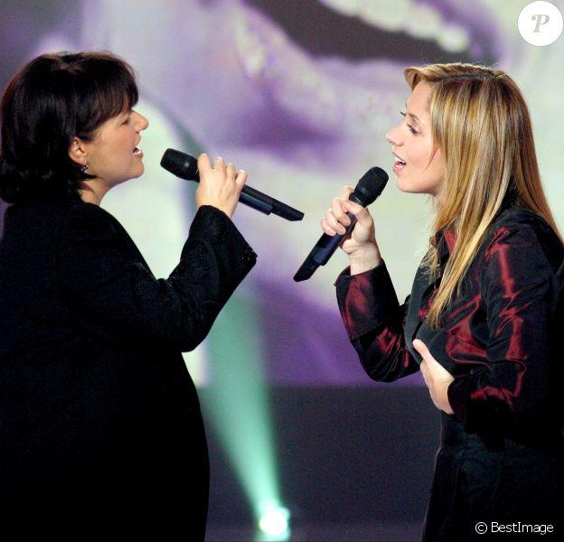 Maurane et Lara Fabian en 2002.