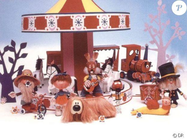 """Pollux, le petit chien du """"Manège enchanté"""" - une série créée en 1964."""