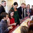 Meghan Markle et le prince Harry à la Maison du Canada le 11 mars 2019, à Londres.