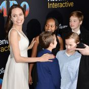 Angelina Jolie, maman chic avec ses enfants : la famille craque pour Dumbo