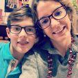 Tessy de Luxembourg (Tessy Antony) avec son fils Gabriel en février 2019. Photo Instagram Tessy de Luxembourg.
