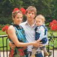 Photo Instagram Tessy de Luxembourg, à la fin des années 2000 avec le prince Louis de Luxembourg, père de ses enfants Gabriel et Noah.
