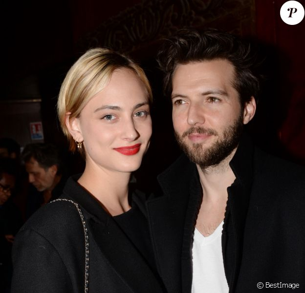 "Nora Arnezeder et son compagnon Guy Burnet à l'after-party du film ""Mon Bébé"" au Buddha-Bar à Paris, France, le 11 mars 2019. Un évènement organisé par Five Eyes production. © Rachid Bellak/Bestimage"