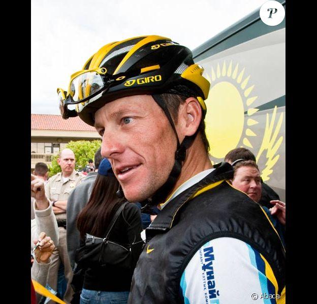 Lance Armstrong durant le Tour de Californie en février 2009