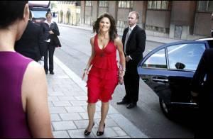 La princesse Victoria de Suède, très en beauté pour visiter... son fiancé hospitalisé !