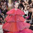 """Défilé de mode Haute-Couture printemps-été 2019 """"Schiaparelli"""" à Paris. Le 21 janvier 2019"""