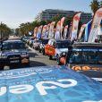 Exclusif - Départ officiel de la 29ème édition du Rallye Aïcha des Gazelles sur la Promenade des Anglais à Nice, le 16 mars 2019. Le Rallye Aïcha des Gazelles du Maroc est le seul Rallye-Raid hors-piste 100% féminin au monde. © Bruno Bebert / Bestimage