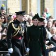 Le Prince William et Kate Middleton, duchesse de Cambridge, lors de la parade de la Saint Patrick dans le quartier de Hounslow à Londres le 17 mars 2019.