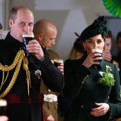 Kate Middleton et le prince William trinquent à la bière pour la Saint-Patrick