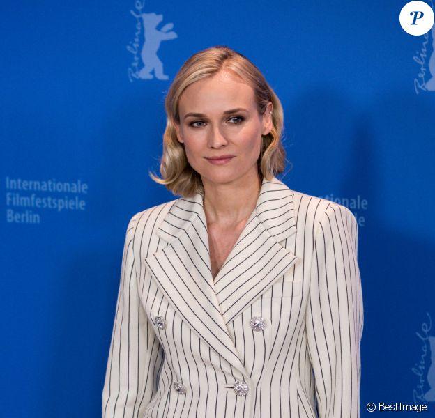 """Diane Kruger au photocall du film """"The Operative"""" lors du 69ème Festival International du Film de Berlin, La Berlinale le 10 février 2019."""