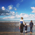 Daphné Bürki et ses filles Hedda et Suzanne - Instagram, 3 novembre 2018