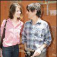 Charlotte Gainsbourg et Yvan Attal à Roland-Garros, le 5 juin 2009
