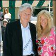 Björn Borg et son épouse à Roland-Garros, le 5 juin 2009