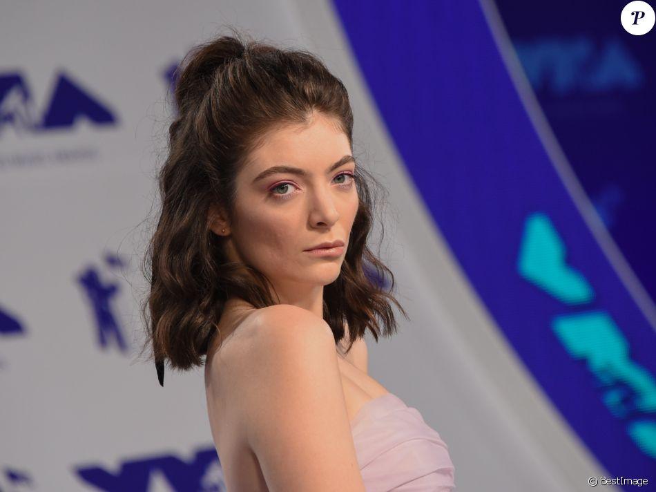 Lorde le 27 août 2017 à Los Angeles.