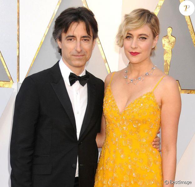 Noah Baumbach et Greta Gerwig - 90ème cérémonie des Oscars 2018 au théâtre Dolby à Los Angeles le 4 mars 2018.
