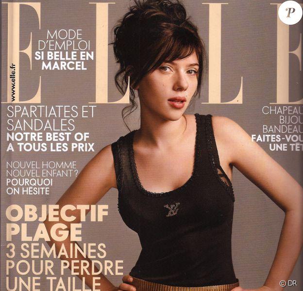 Scarlett Johansson en courveture de Elle