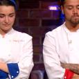 """Camille et Florian - """"Top Chef 2019"""" sur M6, le 27 mars 2019."""