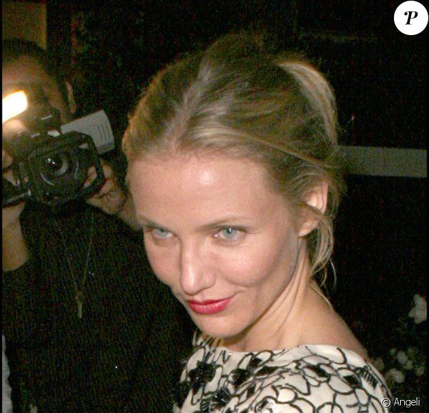 Cameron Diaz au pique-nique Stella McCartney pour la diffusion du documentatire Home de Yann Arthus-Bertrand. Le 5 juin 2009, Los Angeles.