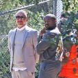Kanye West - Les célébritésont assisté à la messe dominicale en musique de Kanye West à Los Angeles. Le 24 mars 2019.