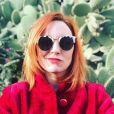 Laura Calu en mode selfie sur Instagram, le 8 février 2019