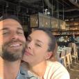 Marine Lorphelin et Christophe amoureux au japon, le 27 mars 2019.