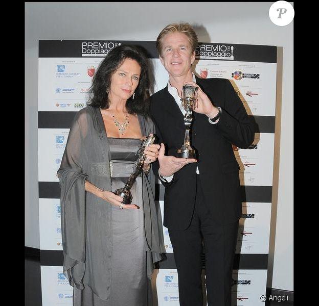 Matthew Modine et Jacqueline Bisset lors de la 3e édition des Gran Premio Internazionale del Doppiaggio le 5 juin 2009