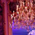 Exclusif - Atmosphère lors de la soirée de gala au profit de la fondation Pompidou,organisé et financé par Olivier et Natacha Dassault ainsi que Monique Pozzo Di Borgo,à l'hôtel Marcel Dassault à Paris, France, le 28 mars 2019. © Rachid Bellak-LMS/Bestimage