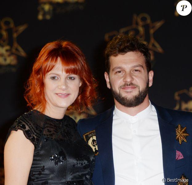Claudio Capéo et sa compagne - 20e cérémonie des NRJ Music Awards au Palais des Festivals à Cannes. Le 10 novembre 2018 © Christophe Aubert via Bestimage