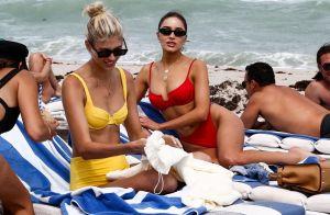 Olivia Culpo : Torride en bikini et détendue avec une amie top model