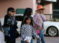 Laeticia Hallyday avec ses filles, sa maman, son frère... Un clan si soudé