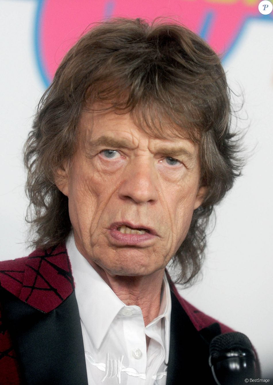 "Mick Jagger - Ouverture de l'exposition ""Rolling Stones Exhibitionism"" à l'Industria Superstudio à New York le 15 novembre 2016."