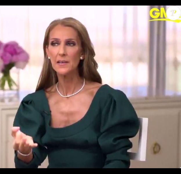 Céline Dion dans Good Morning America, le 2 avril 2019