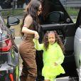 Exclusif - Les Kardashians arrivent en famille à la messe dominicale à Calabasas. Le 3 mars 2019
