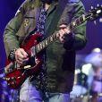 Tom Petty et son groupe Heartbreakers en concert à Chicago. Le 23 août 2014.