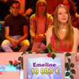 """Emeline candidate des """"12 Coups de midi"""" en juillet 2016, sur TF1"""