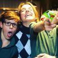 Tessy de Luxembourg (Tessy Antony) s'amusant avec ses fils Gabriel et Noah. Photo Instagram Tessy de Luxembourg.