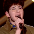 "Gjon's Tears dans ""The Voice 8"" sur TF1, le 13 avril 2019."