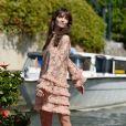 Annabelle Belmondo, la petite-fille de Jean-Paul Belmondo à l'hôtel Excelsior lors du 74ème Festival International du Film de Venise, la Mostra le 5 septembre 2017.