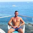 Julien Bert à la plage - Instagram, 20 août 2018