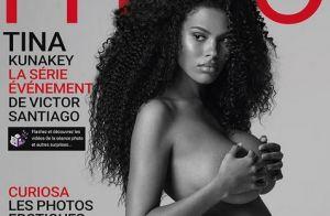 Tina Kunakey, enceinte et nue : sublime en couverture de magazine