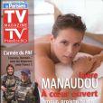Laure Manaudou en couverture de TV Magazine