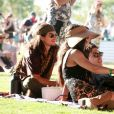 Vanessa Hudgens et son compagnon Austin Butler - People au festival de Coachella à Indio le 12 avril 2019.