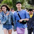 Kaia Gerber et son boyfriend Wellington Grant au festival de musique et d'arts de la vallée de Coachella dans le désert à Bermuda Dunes Le12 avril 2019.